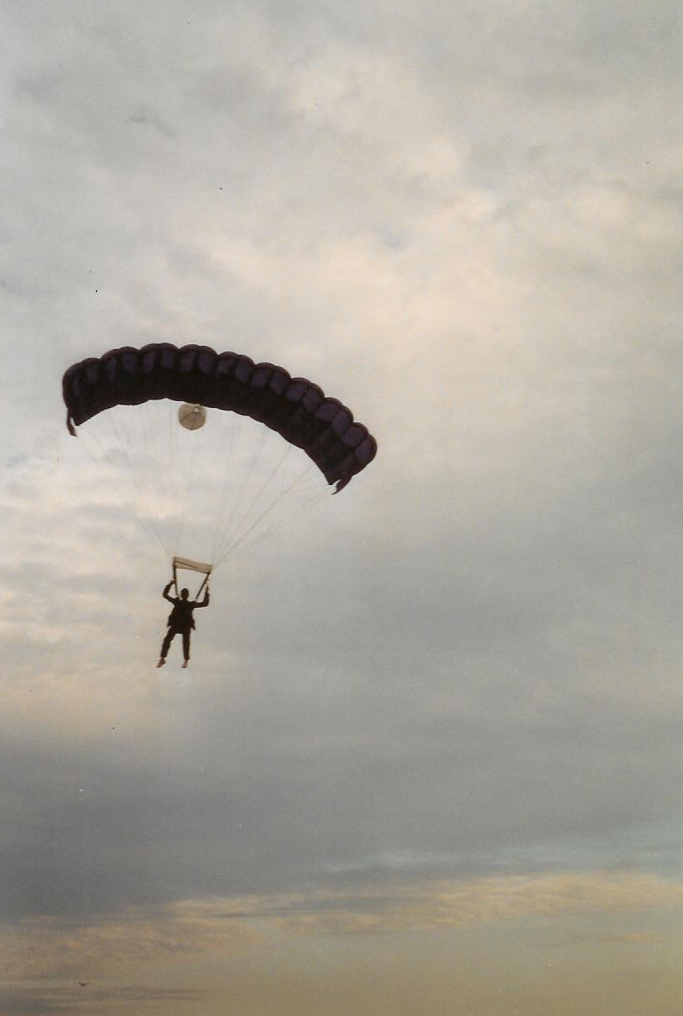 essay about skydiving accident